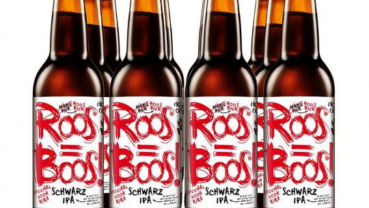 Roos is boos bier