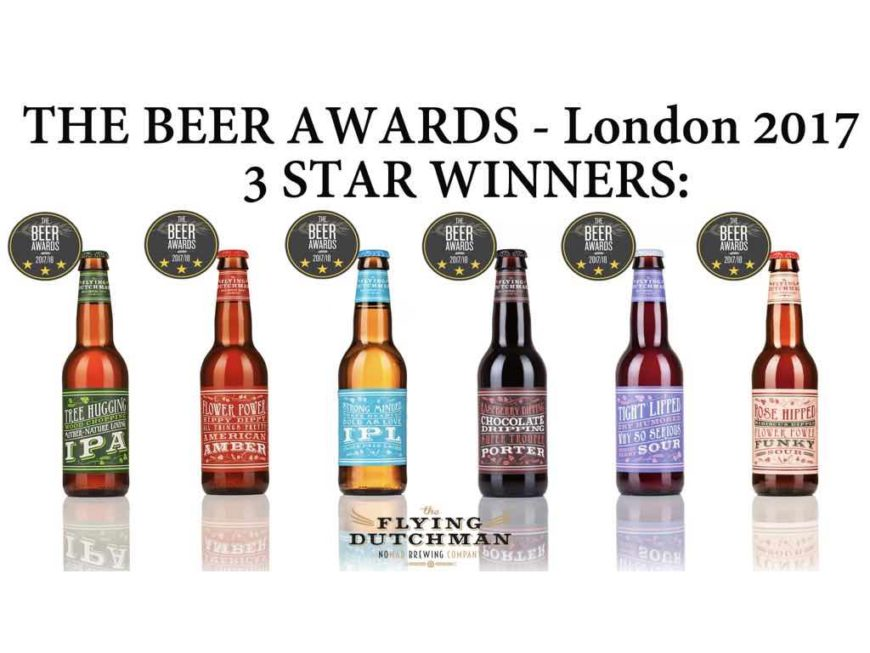 Beer awards flying dutchman