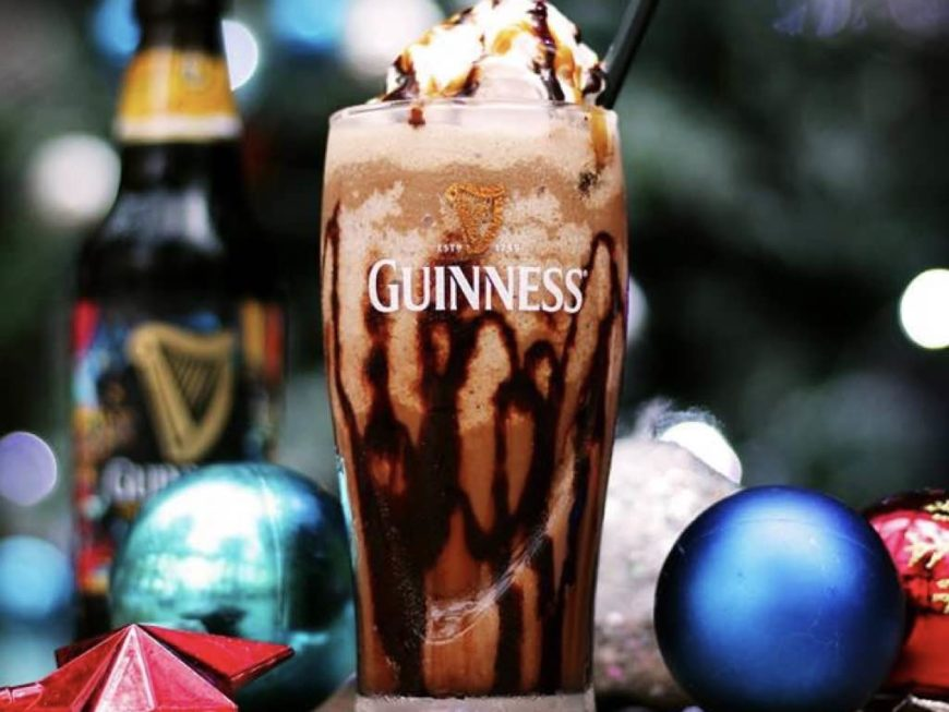 Guinness Xmas float
