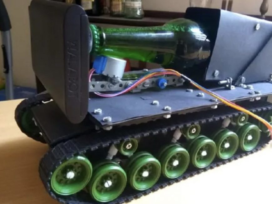 Mini-tank Wallabeer