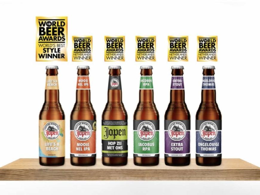 Jopen World Beer Awards 2018