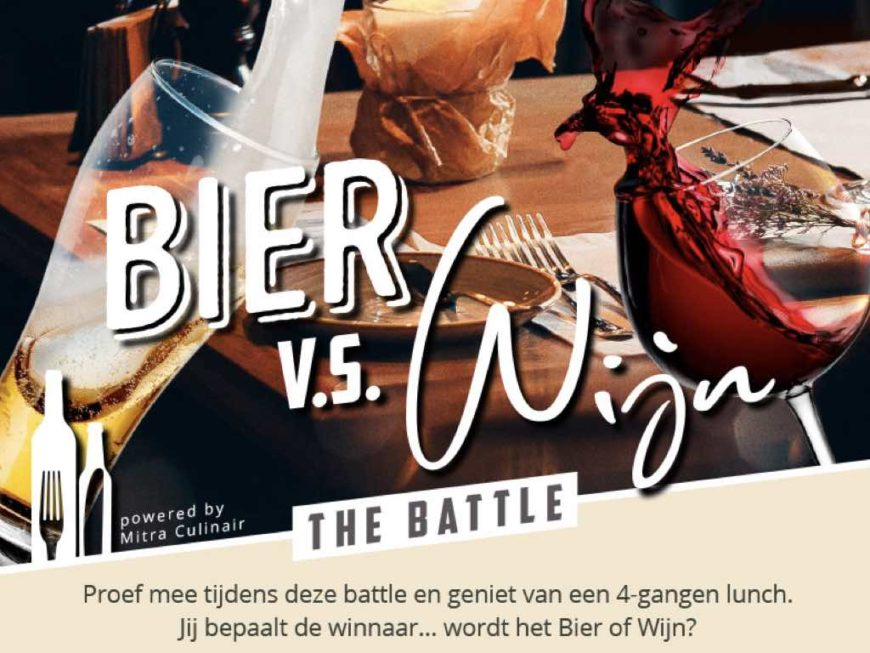 Bier vs. Wijn Battle