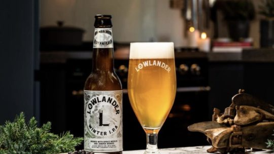 Lowlander Winter White IPA
